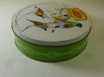 Arnott's Traditional 'Finches', round, 450g. Biscuit Tin, c.1979 *
