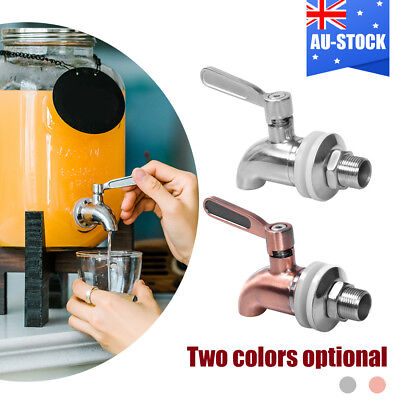 Stainless Steel Faucet Tap Beverage Dispenser Drink Wine Barrel Spigot Replace