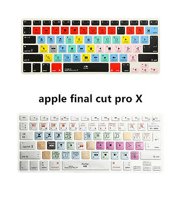 Final Cut Pro X Shortcut Keyboard Cover Skin for MacBook Air Pro 13 15 17