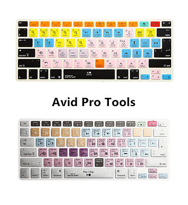 Avid Pro Tools Shortcut Keyboard Cover Skin for MacBook Air Pro 13 15 17