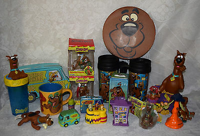 20 Scooby Doo Collectibles Plush Watch Bank Ornaments Mugs Fast Food Toys + More