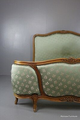 Upholstered Antique Style French Bed