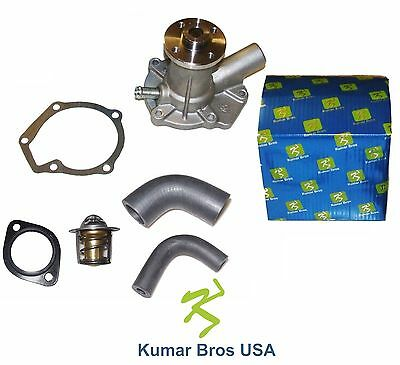 New Kubota B6200D B6200E B6200HSTD B6200HSTE WATER PUMP with Hoses & Thermostat
