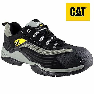 Caterpillar Moor RM Athletic Oxford Mens Black Trainers Shoe Not Safety Boots