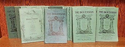 THE DICKENSIAN Magazine for Charles Dickens 29 issues. 1930s. Vintage Job Lot.