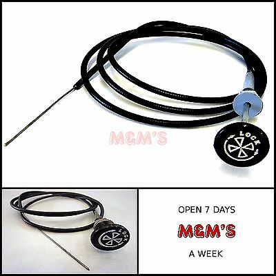"Classic Mini / Universal 60"" Locking Choke Cable - Pull Cable"