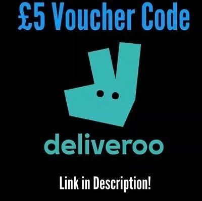 £5 Deliveroo voucher coupon discount code: MITCHELLS4820 | No purchase required