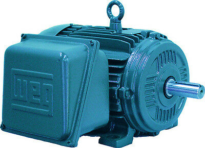 10 hp electric motor 215t 1 phase 1800 rpm cast iron severe duty compressor weg
