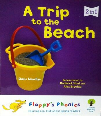 Two Stories in 1 Book|A Trip to the Beach & Find Out|Floppy's Phonics|Level 4