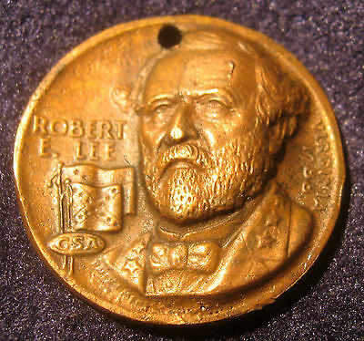 Civil War Robert E Lee Virginia Medal Sold as Replica