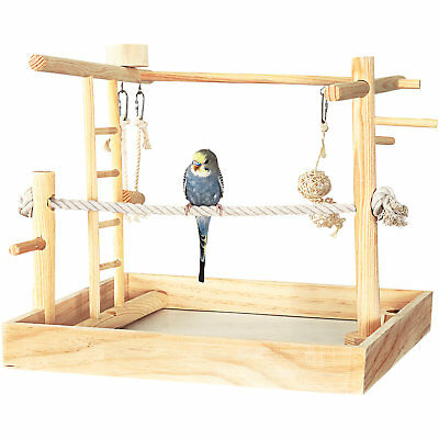 """You & Me 3-in-1 Playground for Birds, 15"""" L X 15"""" W X 16"""" H"""