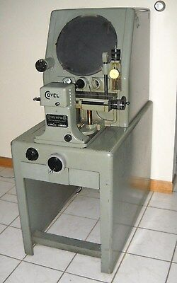 """Clausing Covel 14"""" Optical Comparator Model 14B Excellent Condition Working"""