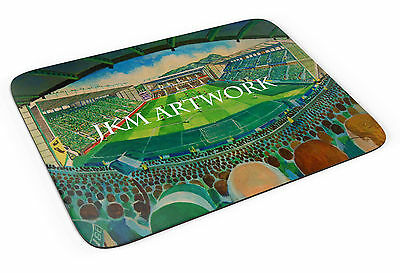 Easter Road Art Mouse Mat - Hibernian FC