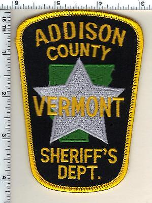 Addison County Sheriff's Dept. (Vermont) Shoulder Patch from 1987