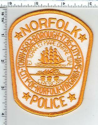 Norfolk Police (Virginia) Shoulder Patch from the 1980's