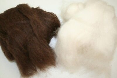 Alpaca Fleece Fibre Tops, Batts,Roving, Spinning/Felting, UK Alpaca Wool 50g-1kg