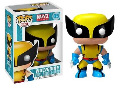 Funko Pop Marvel X-Men Wolverine #05 New Vinyl Figure #5 - Bobble Head