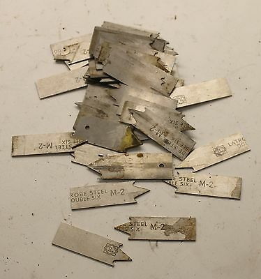 1-1/4 LB of Latrobe Double Six M-2 Tool Steel Pieces for Bladesmith Damascus