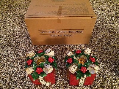 Avon Gift Box Taper Holders For Candles