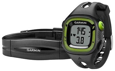 Garmin Forerunner 15 Blk/Green Bundle | 010-01241-20 | AUTHORIZED GARMIN DEALER