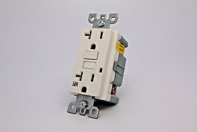 20A Gfci Tr & Wr Safety Outlet 2008 Ul - White
