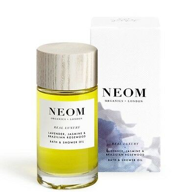 Neom Organics London Lavender, Jasmine & Sandalwood Bath & Shower Oil 100mg
