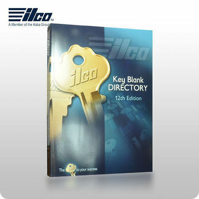 ILCO 12th Edition Key Blank Directory & Cross Reference Book For Locksmith