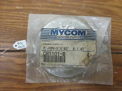 Lot Of 2 MYCOM CR1101-B Discharge Valve Lot Of 2 Cr07100-B Suction Valve