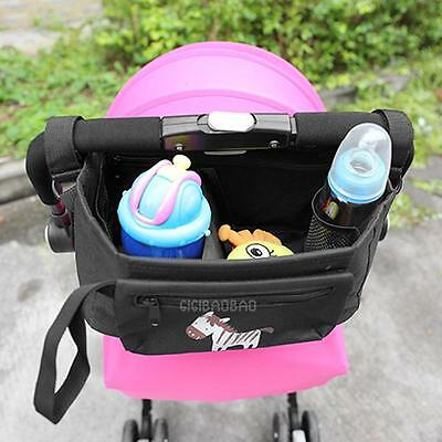 Pushchair Baby Strollers Storage Buggy Cup Bottle Holder Organiser Mummy Bag