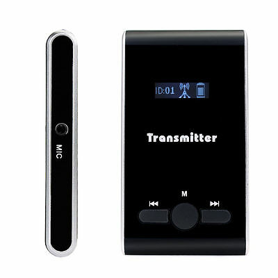 New 99CH Wireless Portable Transmitter for Tour Guide/Translation/Factory tour