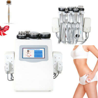 Ultrasonic Cavitation RF Radio Frequency Vacuum 6in1 Slimming Cellulite Machine