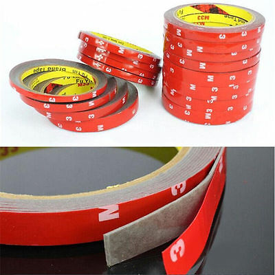3M Strong  Adhesive Permanent Double Sided Super Self Sticky Tape Roll Adhesive
