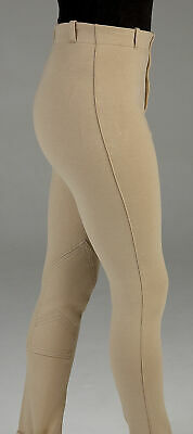 Childrens HyPERFORMANCE Milligan Cotton Stretch Pull On Horse Riding Jodhpurs