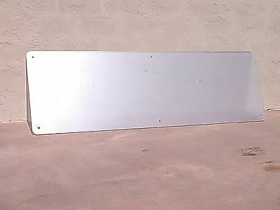 """Plexi-Glass Clear Sign Sheet With Mounting Holes 1/2"""" X 29 3/8"""" X 94"""""""