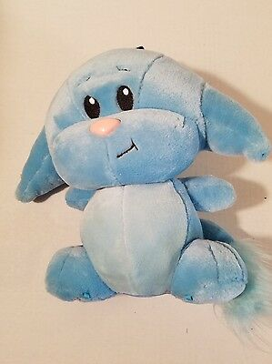 Talking Blue KACHEEK Neopet Plush Plays Game Vibrating Sounds 2003 Thinkway Toy