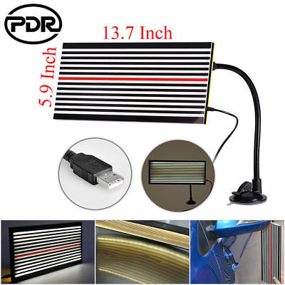 Paintless Hail Removal LED Light PDR Tool Dent Doctor 2Side Line Reflector Board