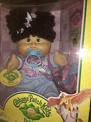 MIB Cabbage Patch Doll Babies 2005 Play Along PA-18 Asian Super Curly Hair Girl