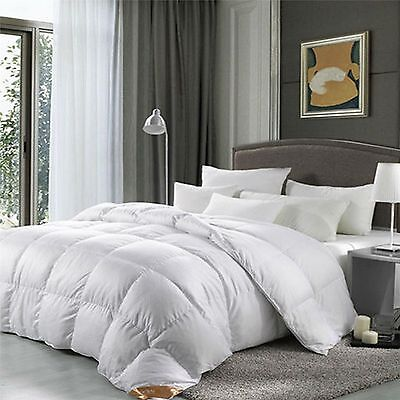 NEW ALL TOGS LUXURY White 85% Duck Feather & 15% Down Duvet Quilt- All Sizes