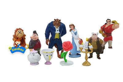 Disneys Beauty and the Beast Cake Toppers Set of 12 Figures