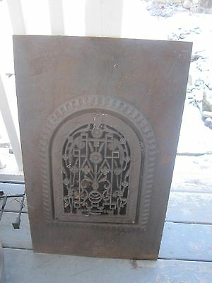 Antique Cast Iron Fireplace Surround Summer Cover
