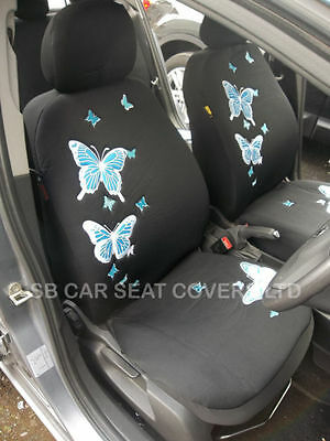 TO FIT A NISSAN QASHQAI CAR YMDX 06 ROSSINI SPORTS BLACK SEAT COVERS