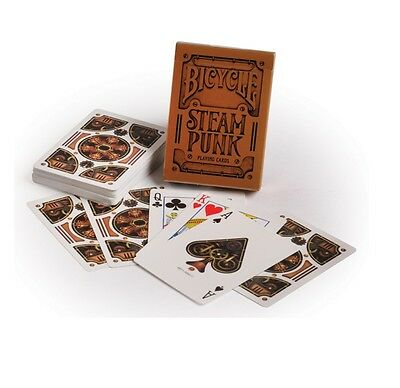 Bicycle Steampunk Gold Deck Of Playing Cards Uspcc