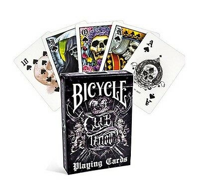 Bicycle Club Tattoo Deck Of Playing Cards Uspcc