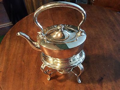 Silver Plated Spirit Kettle C1900