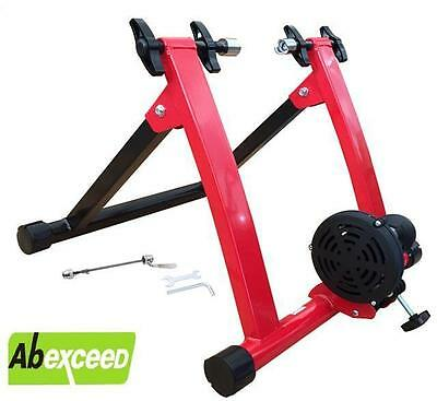 Model Qr Magnetic Indoor Bicycle Bike Trainer Exercise Stand 5 Resistance Levels