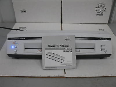 "Royal Sovereign APL-330U 13"" Hot and Cold 4-Roller Pouch Laminator"