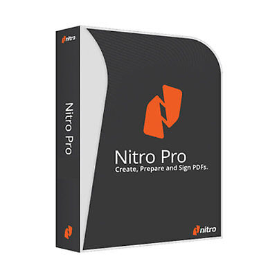 Nitro Pro 11 - Create, Edit & Convert Word & Other Document Formats to PDF