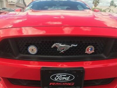 FORD MUSTANG Classic Car Grill badge emblem badge 1964 2017 BADGE grille badge