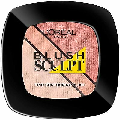 Loreal Blush Sculpt, Trio Contouring Blush, 102 Nude Beige, New and Sealed
