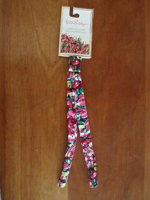NEW! NWT!  LILLY PULITZER Sunglass Strap in WILD CONFETTI Navy Pink Green